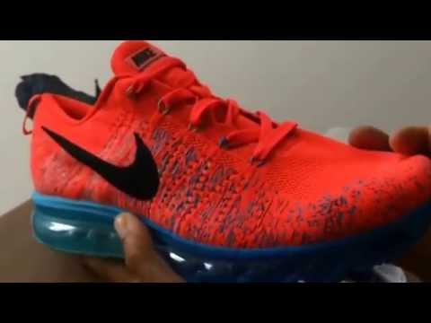 nike air max flyknit unboxing