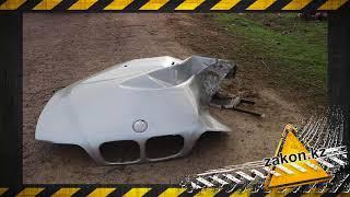 На трассе Алматы-Бишкек разорвало BMW e39. Погибли четверо.