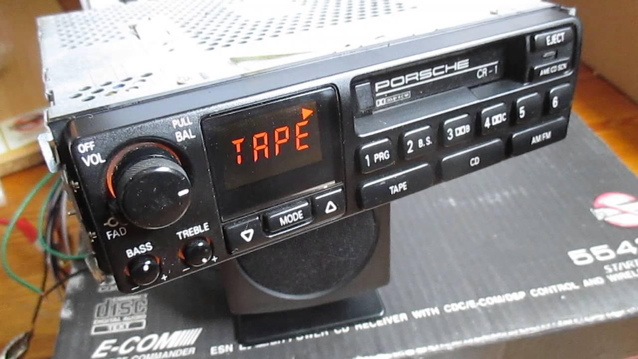 how works porsche cr 1 cr1 96464501400 radio youtube rh youtube com CR1 Visa CR 1 3N Battery