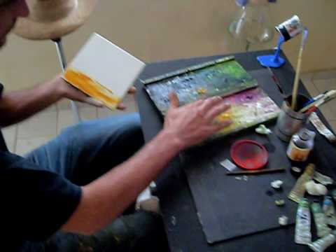 Pintura em azulejo beto vieira painting youtube - Pintura para pintar azulejos ...
