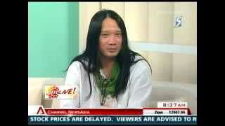 Channel News Asia AM Live interview Mathias Heng.