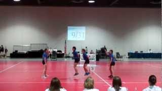 DDPF Nationals 2012 (Abby Elaina Alicia Natalie)