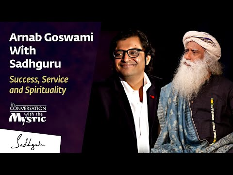 Arnab With Sadhguru - In Conversation with the Mystic @New D