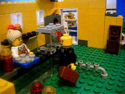 Welcome to King Burger! (legos) - YouTube