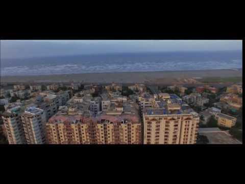 Karachi City 2017   Beach and Clifton   Aerial Views
