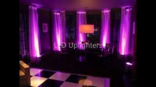 Led Furniture Hire. Poseur, Bar, Banquet, Cubes, Uplighters