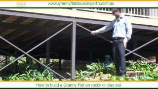 How To Build A Granny Flat On Rocky Or Clay Soil