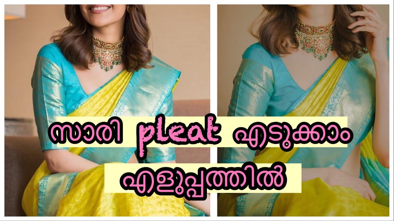 Download How to pleat a saree easily|| for beginners|| SAREE DRAPE