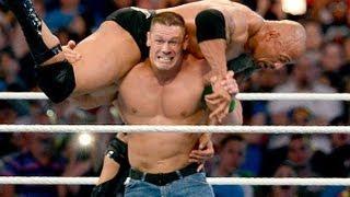 Wrestle Mania 29 - WWE Champion The Rock vs John Cena WrestleMania 29 HD 4/7/13