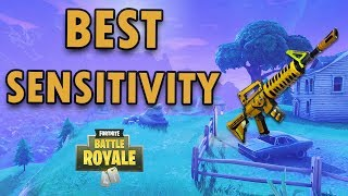 BEST CONSOLE SENSITIVITY/SETTINGS for FORTNITE (Xbox ONE & PS4)