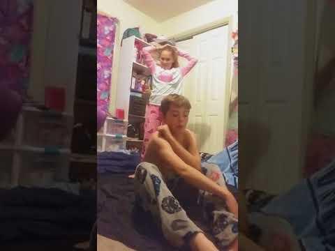 Wrestling my sister