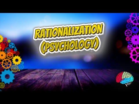 Rationalization psychology
