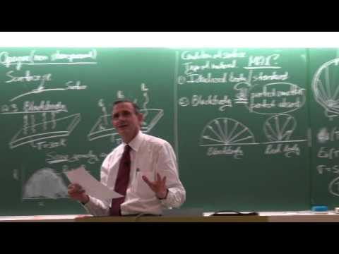 Lecture 40 (2014) Thermal radiation 2 of 7