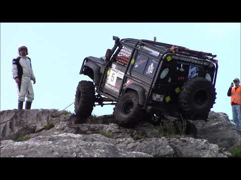 EXTREME ROCK CRAWLING - XTRIAL 2018/1  Land Rover Defender 90 TD5