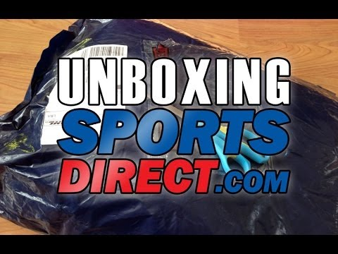 Unboxing Sports Direct