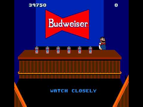 Arcade Game: Tapper/Root Beer Tapper (1983 Midway)