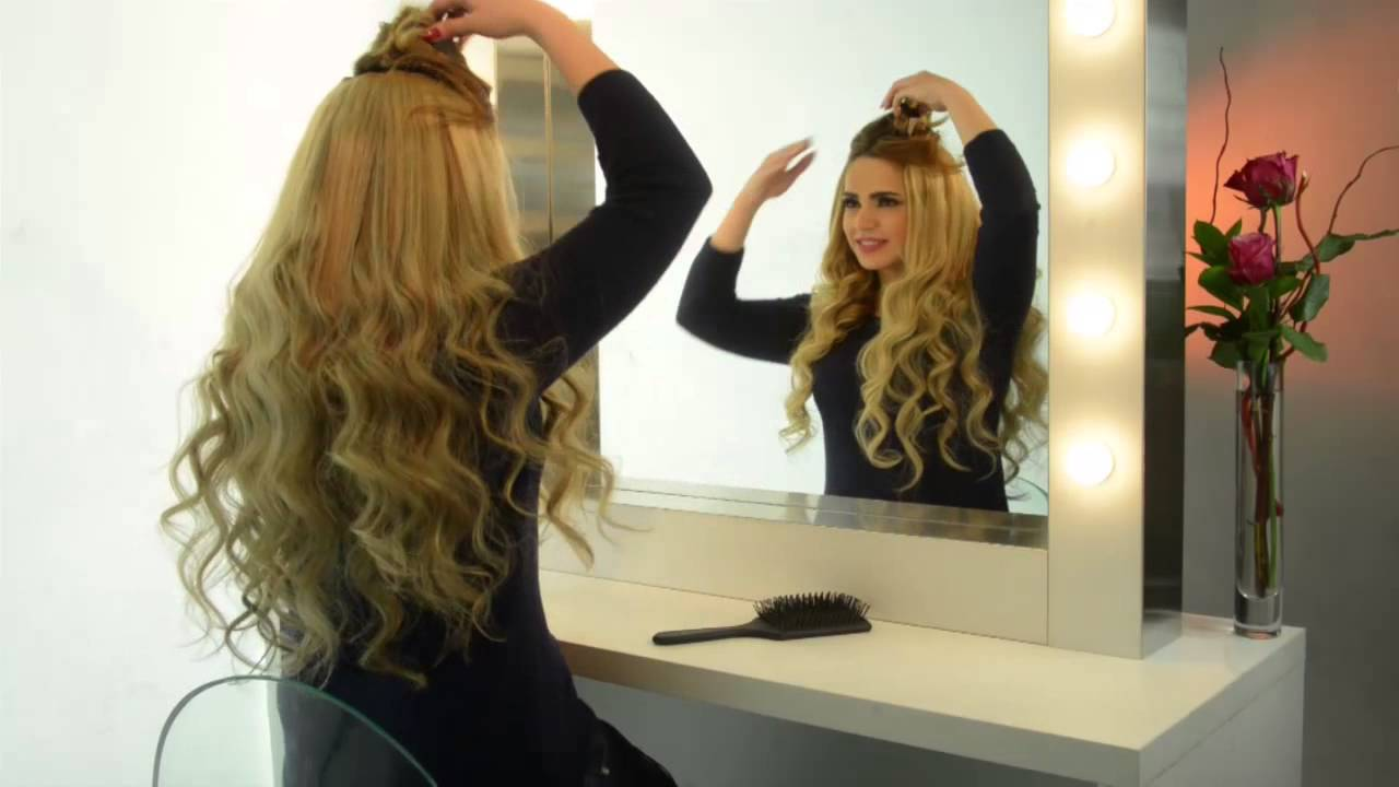 Clip on extensions by karkafi hair youtube pmusecretfo Choice Image