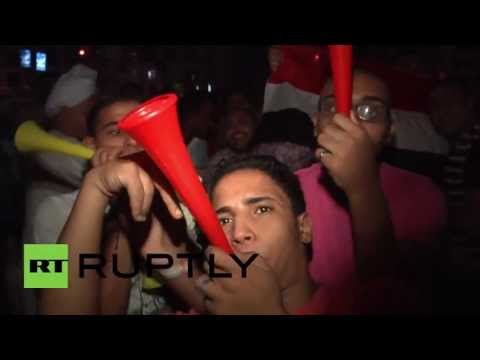 Egypt: Anti-Morsi protests continue into the night in Cairo
