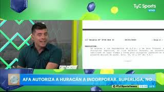AFA autorizó a Huracán a realizar incorporaciones pese a la inhibición de Superliga