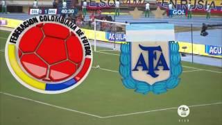 Colombia 0 Argentina 1 Eliminatorias Sudamericanas Rusia 2018