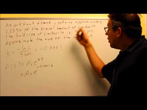 Algebra - Exponential Growth and Decay Word Problems (7 of 7) Radioactive Decay from YouTube · Duration:  10 minutes 38 seconds