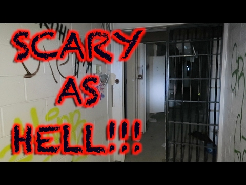 HAUNTED MAXIMUM SECURITY PRISON 24 HOUR OVERNIGHT CHALLENGE (SCARY AF)