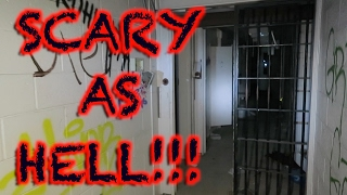 HAUNTED MAXIMUM SECURITY PRISON 24 HOUR OVERNIGHT CHALLENGE (SCARY AF) | OmarGoshTV