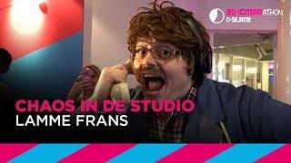 Lamme Frans trekt studio binnenstebuiten | Bij Igmarathon