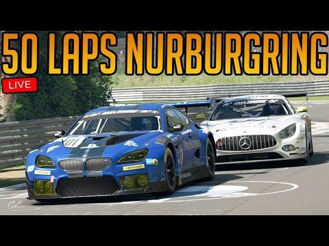Gran Turismo Sport: 50 Laps Of Nurburgring Nordschleife | 7 Hour Endurance Race!