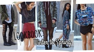 Winter to Spring Lookbook: February 2014 Thumbnail