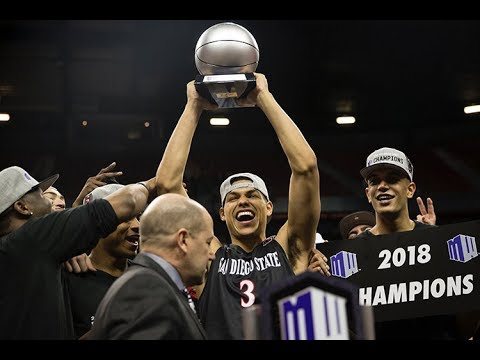San Diego State takes Mountain West championship, defeats New Mexico, 82-75