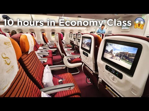 FIRST TIME FLYING THAI AIRWAYS ECONOMY CLASS | Airbus A350 Tokyo - Bangkok - Singapore