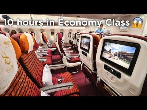 FIRST TIME FLYING THAI AIRWAYS ECONOMY CLASS | Airbus A350 Tokyo - Bangkok - Singapore