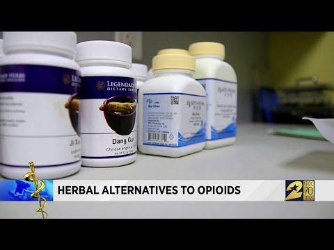 Herbal alternatives to opioids