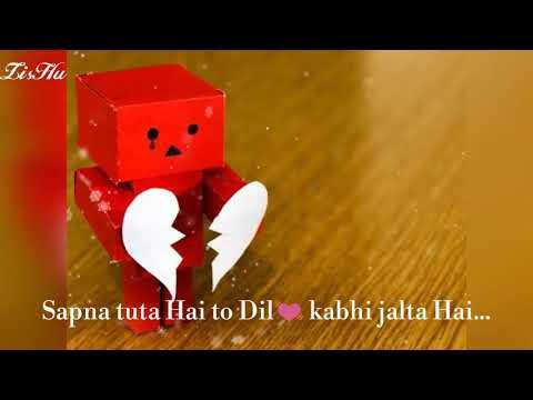 WhatsApp status | Sapna tuta hai to Dil kabhi jalta Hai | Munna Bhai M.B.B.S| Sanjay Dutt | by ZisHu