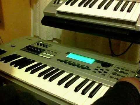 r b hip hop beat making on yamaha mo6 keyboard workstation youtube. Black Bedroom Furniture Sets. Home Design Ideas