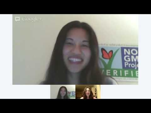 WWGF News co-host Laurie Olson Hangout with Tee Britton of Chia Rezza