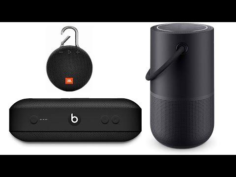 Best Portable Bluetooth Speaker Top 10 Portable Bluetooth Speaker For 2020 Top Rated Portable Youtube