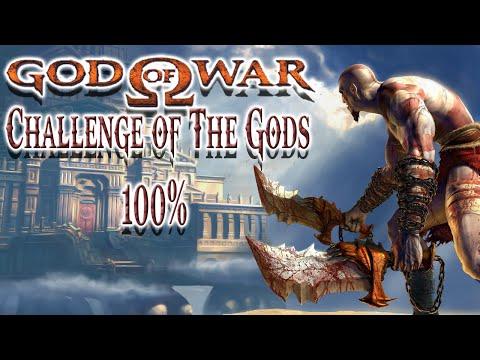 God of War Challenge of The Gods 100% Live + Complete Game