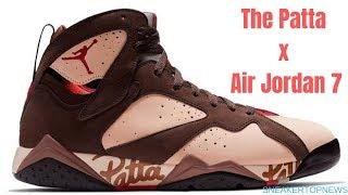 The Patta x Air Jordan 7
