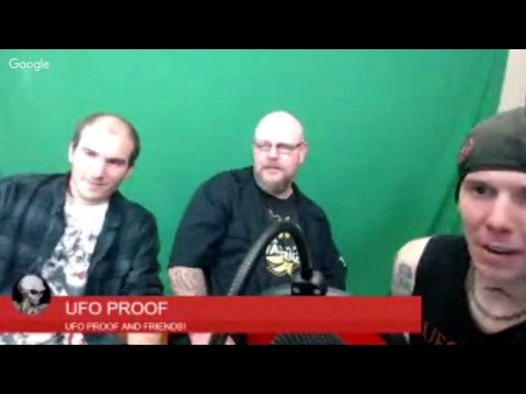 UFO TALK LIVE W/UFO PROOF!