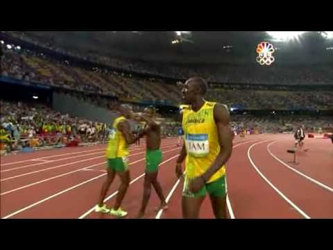 Thumbnail: Usain Bolt - 6 World Records in 100m (9.72, 9.69, 9.58), 200m (19.30 19.19), 4x100m relay (37.10)