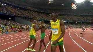 Usain Bolt - 6 World Records in 100m (9.72, 9.69, 9.58), 200m (19.30 19.19), 4x100m relay (37.10) thumbnail