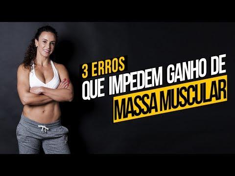 3 Erros que Impedem Ganho De Massa Muscular | Raquel Quartiero - Barriga de Sonho