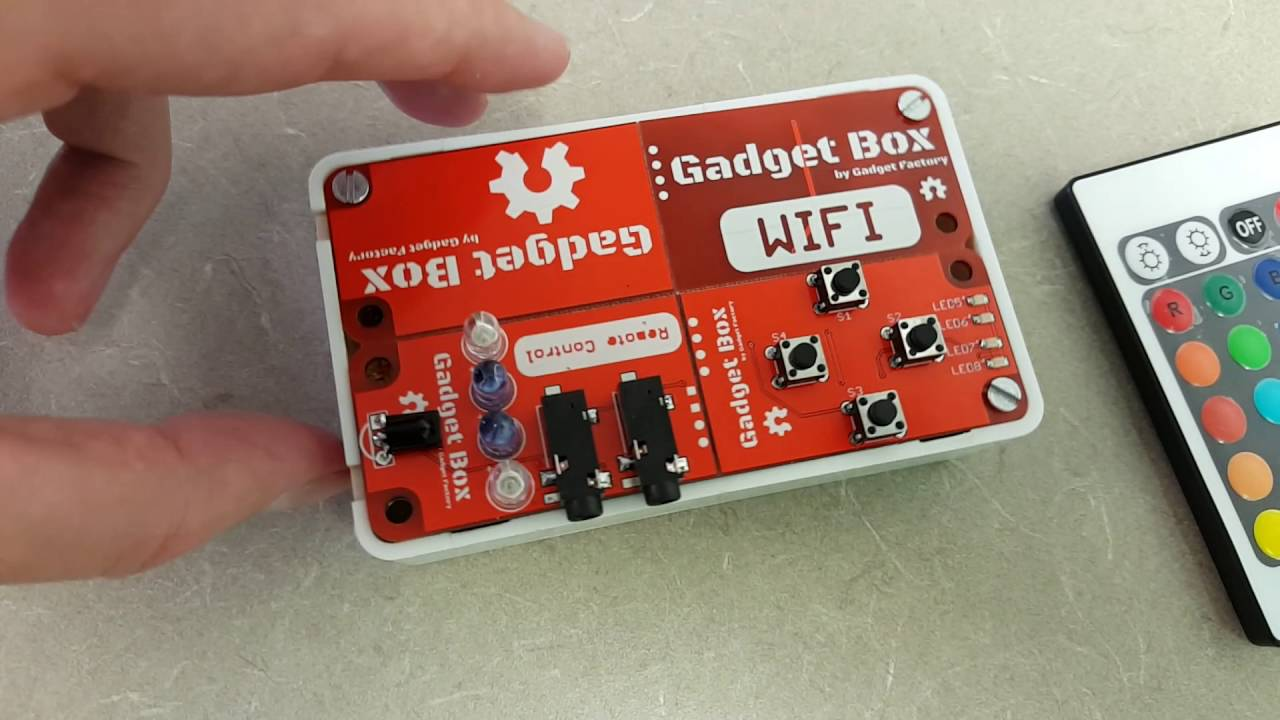 Gadgetbox First Working Project Remote Control Youtube We Feature A Lot Of Different Diy Electronics Projects On Lifehacker