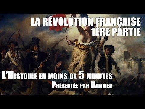 Histoire en moins de 5 minutes : Révolution française - partie 1