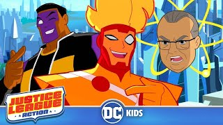 Justice League Action | Ihrem Alten Kumpel: Mister Terrific | DC Kids