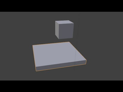 how to create a game in blender