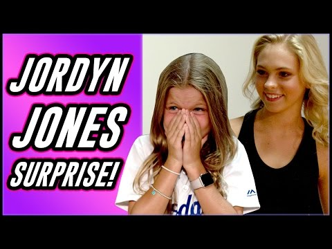 Jordyn Jones Surprise Dance Lesson