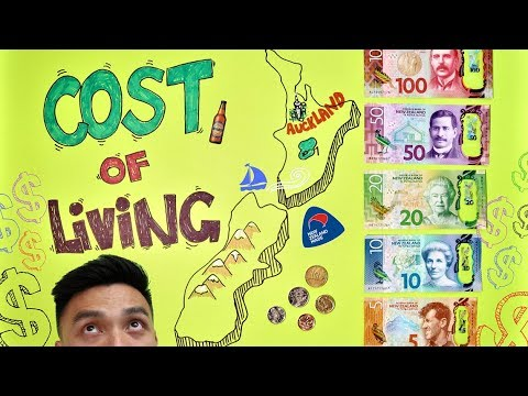 Cost of Living in Auckland, New Zealand